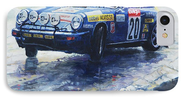 1980 Criterium Lucien Bianchi Porsche Carrera Keller Hoss #20 Phone Case by Yuriy Shevchuk