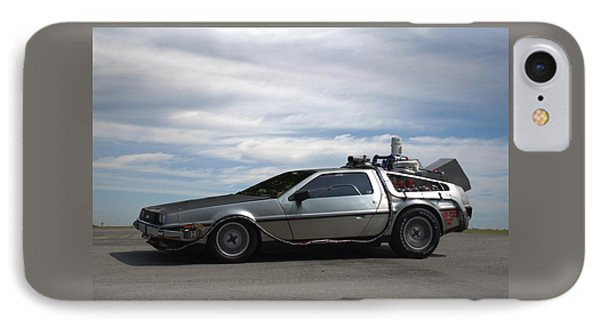 IPhone Case featuring the photograph 1981 Delorean Dmc12 by Tim McCullough