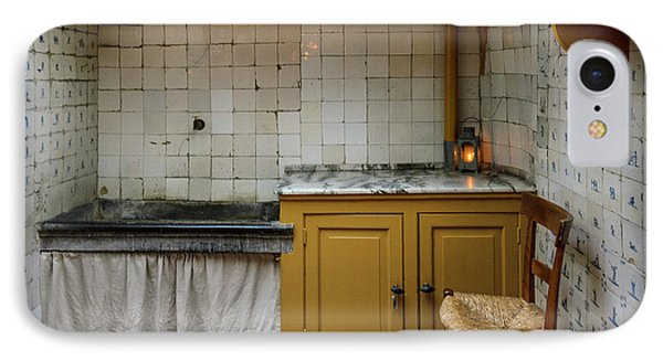 19th Century Kitchen In Amsterdam IPhone Case by RicardMN Photography