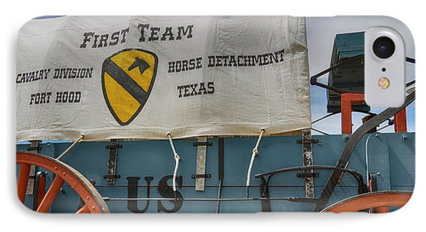 1st Cavalry Division Horse Detachment - Fort Hood IPhone Case by Stephen Stookey