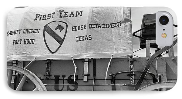 1st Cavalry Division Horse Detachment IPhone Case by Stephen Stookey