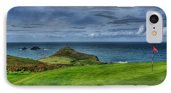 1st Green Cape Cornwall Golf Club IPhone Case