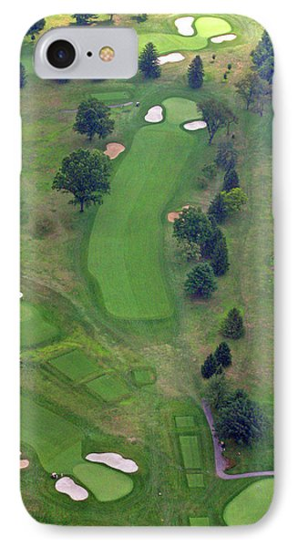 1st Hole Sunnybrook Golf Club 398 Stenton Avenue Plymouth Meeting Pa 19462 1243 IPhone Case by Duncan Pearson