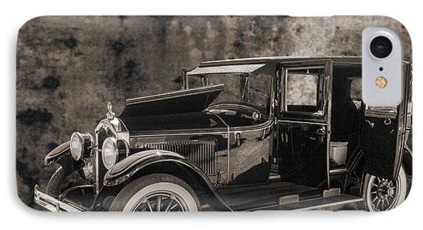 1924 Buick Duchess Antique Vintage Photograph Fine Art Prints 10 IPhone Case by M K  Miller