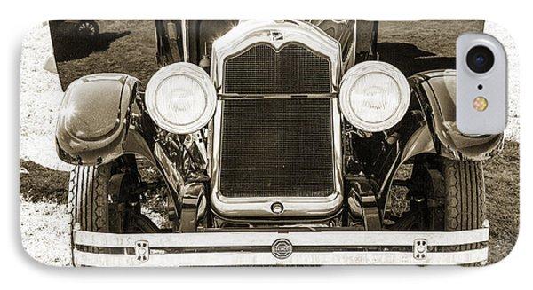 1924 Buick Duchess Antique Vintage Photograph Fine Art Prints 112 IPhone Case by M K  Miller