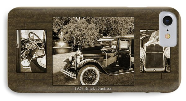 1924 Buick Duchess Antique Vintage Photograph Fine Art Prints 121 IPhone Case