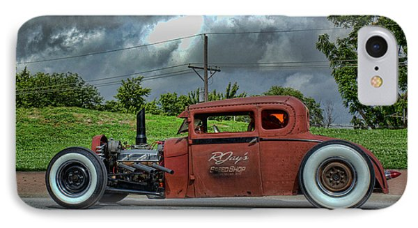 IPhone Case featuring the photograph 1929 Ford Hot Rod by Tim McCullough