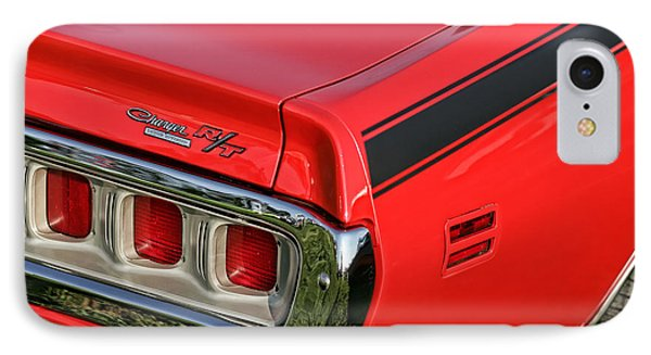1971 Dodge Charger Rt IPhone Case by Gordon Dean II