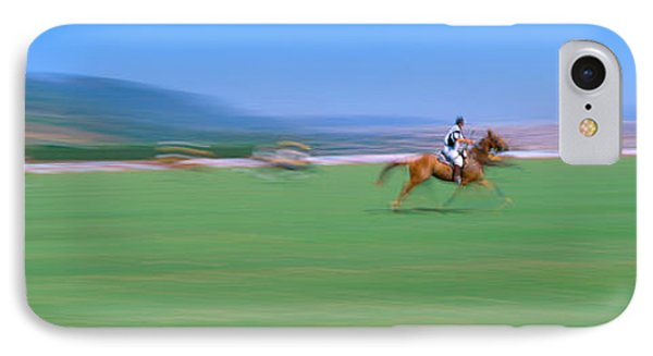 1998 World Polo Championship, Santa IPhone Case by Panoramic Images