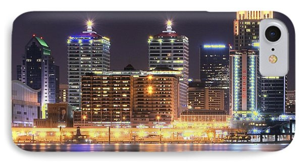A Louisville Night IPhone Case by Frozen in Time Fine Art Photography