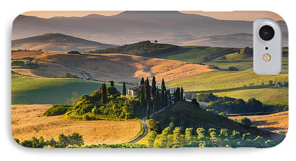 A Morning In Tuscany IPhone Case