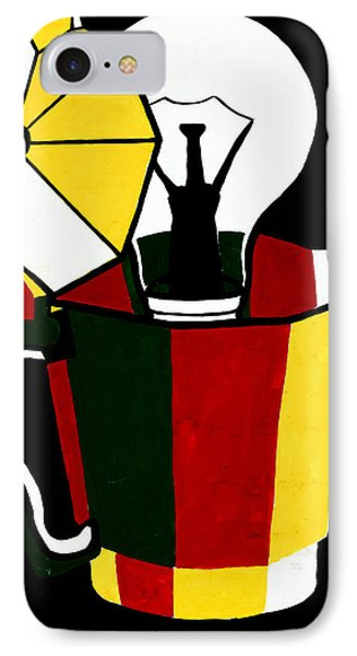 Abstract Painting By Ivailo Nikolov IPhone Case