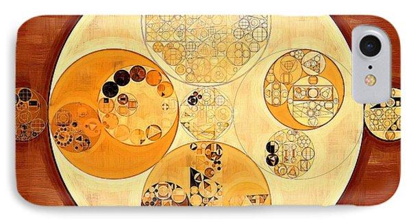 Abstract Painting - Carrot Orange IPhone Case by Vitaliy Gladkiy