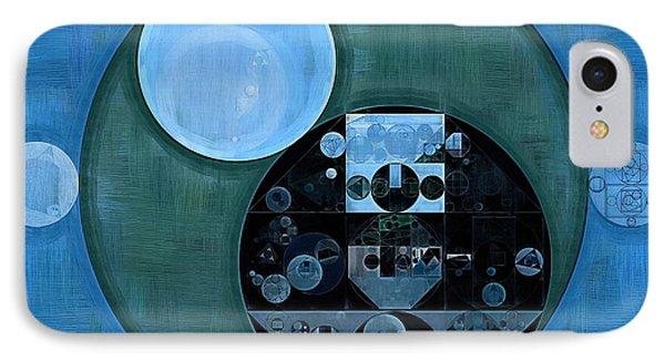 Abstract Painting - Lapis Lazuli IPhone Case by Vitaliy Gladkiy