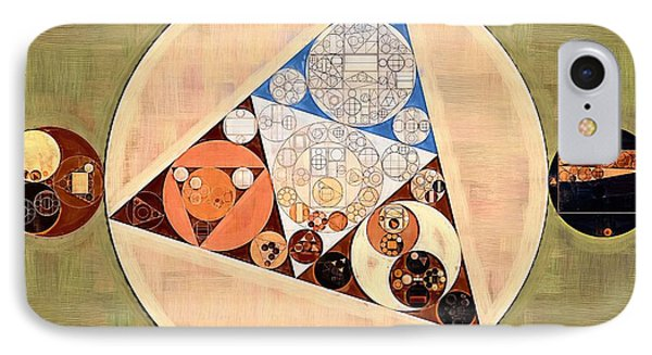 Abstract Painting - Muesli IPhone Case by Vitaliy Gladkiy