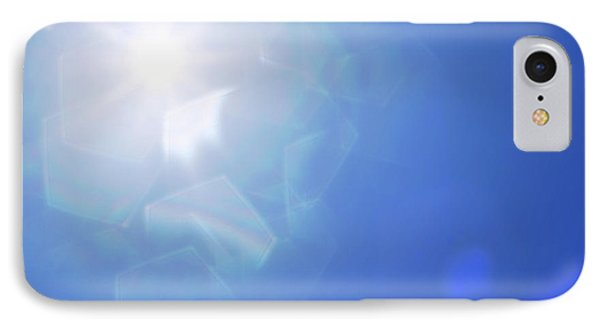 IPhone Case featuring the photograph Abstract Sunlight by Atiketta Sangasaeng