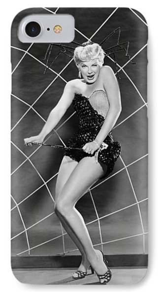 Actress Barbara Nichols IPhone Case by Underwood Archives