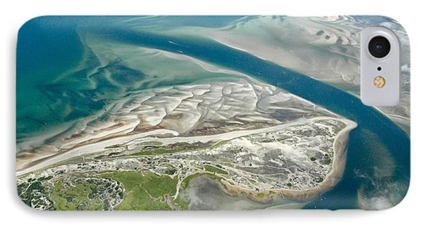 Aerial Vew Of Sandy Neck Beach In Barnstable On Cape Cod Massac IPhone Case by Matt Suess