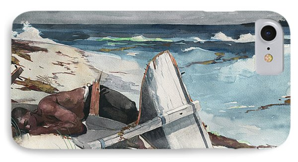 After The Hurricane, Bahamas IPhone Case by Winslow Homer