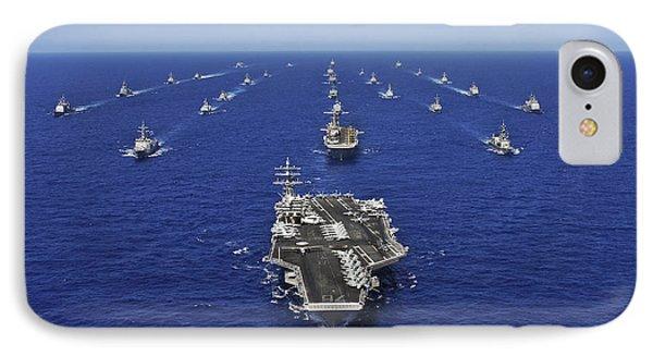 Aircraft Carrier Uss Ronald Reagan IPhone Case