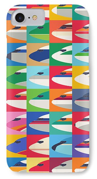 Airline Livery - Pattern IPhone Case by Ivan Krpan