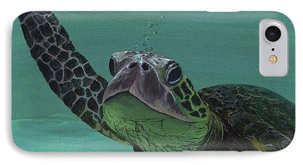 IPhone Case featuring the painting Aloha From Maui by Darice Machel McGuire