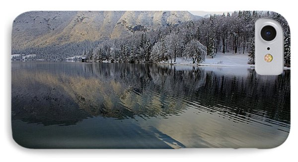 Alpine Winter Reflections IPhone Case