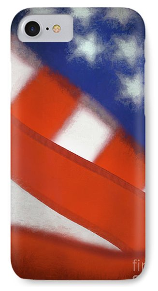 American Flag IPhone Case by George Robinson