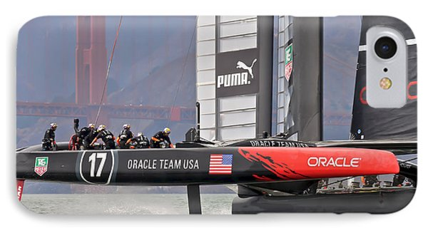 America's Cup Oracle 2013 IPhone Case by Steven Lapkin