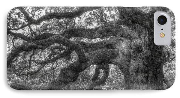 Angel Oak Tree Charleston Sc Phone Case by Dustin K Ryan