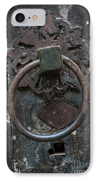 IPhone Case featuring the photograph Antique Door Knocker by Elena Elisseeva