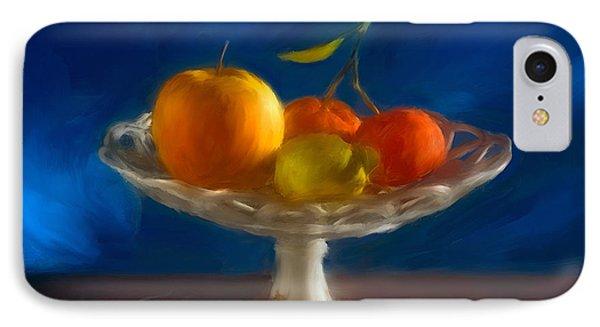 IPhone Case featuring the photograph Apple, Lemon And Mandarins. Valencia. Spain by Juan Carlos Ferro Duque