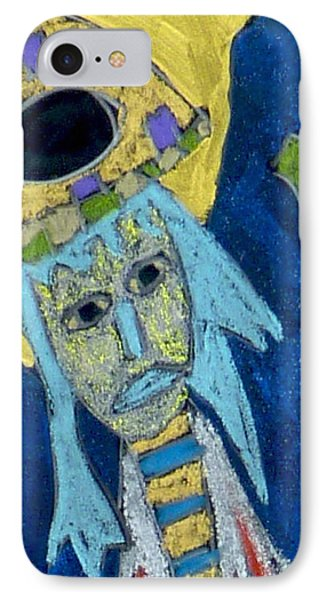IPhone Case featuring the mixed media Archangel Raphael by Clarity Artists