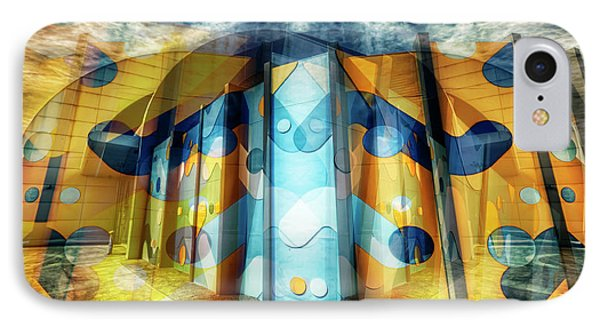 IPhone Case featuring the photograph Architectural Abstract by Wayne Sherriff