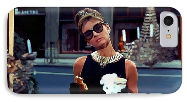 Audrey Hepburn @ Breakfast At Tiffanys IPhone Case
