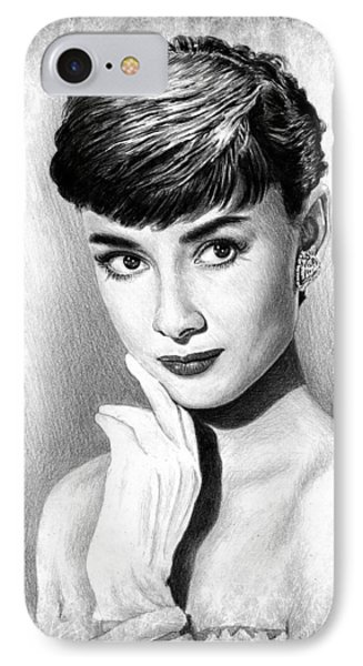 Audrey Hepburn IPhone Case by Andrew Read