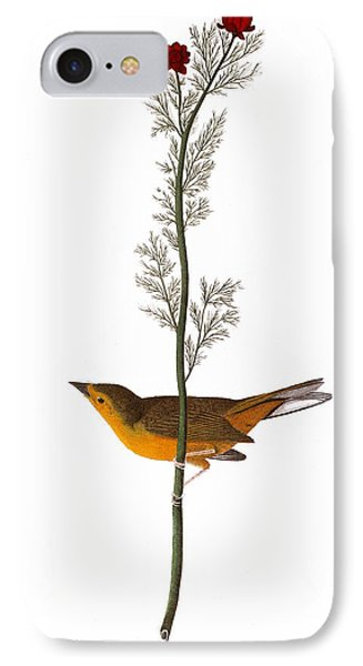 Audubon: Warbler, (1827) Phone Case by Granger