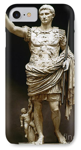 Augustus (63 B.c.-14 A.d.) IPhone Case