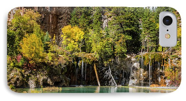 Autumn At Hanging Lake Waterfall - Glenwood Canyon Colorado IPhone Case by Brian Harig