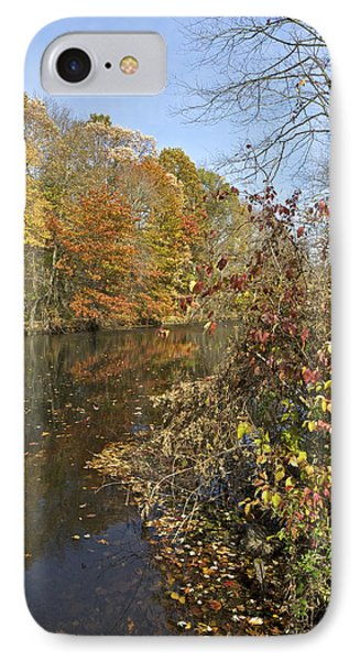 Autumn Colors On The Canal IPhone Case
