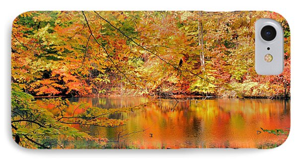 Autumn Reflections Phone Case by Kristin Elmquist