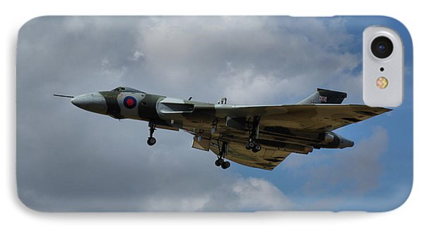 IPhone Case featuring the photograph Avro Vulcan B2 Xh558 by Tim Beach