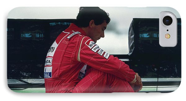 Ayrton Senna. 1992 French Grand Prix IPhone Case