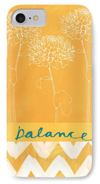 Balance IPhone 7 Case by Linda Woods