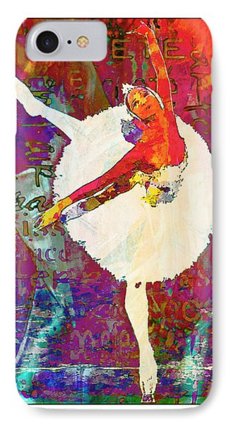 Ballet IPhone Case by Lynda Payton