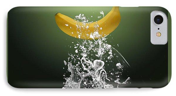 Banana Splash IPhone Case by Marvin Blaine