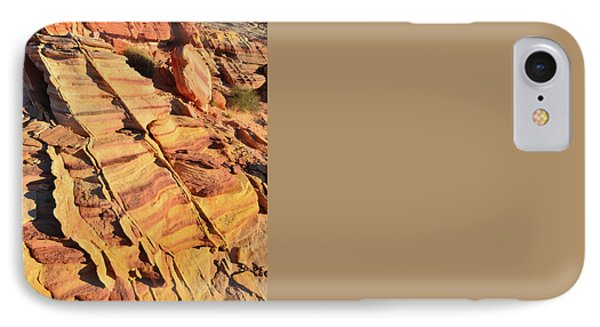 IPhone Case featuring the photograph Bands Of Color In Valley Of Fire by Ray Mathis