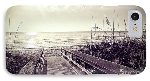 Barefoot Beach IPhone Case by Chris Andruskiewicz