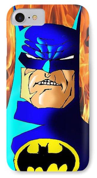Ben Affleck iPhone 7 Case - Old Batman by Salman Ravish