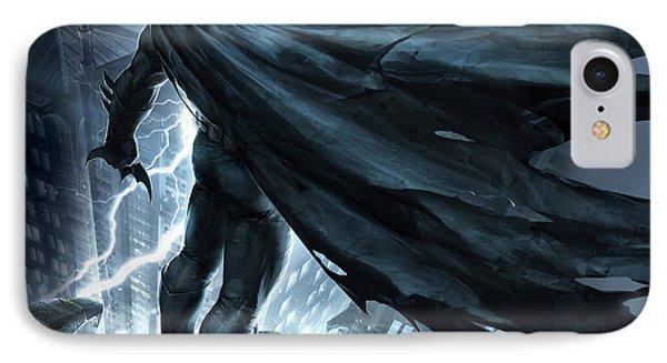 Batman The Dark Knight Returns 2012 Phone Case by Unknown